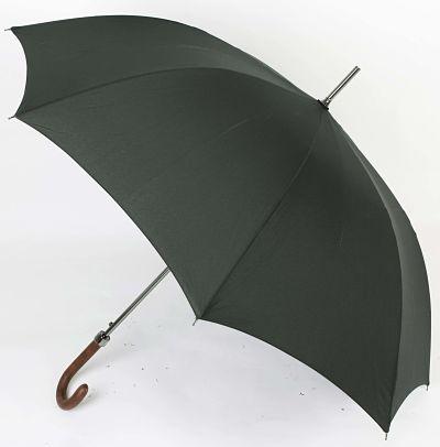 Paraguas puño piel automático