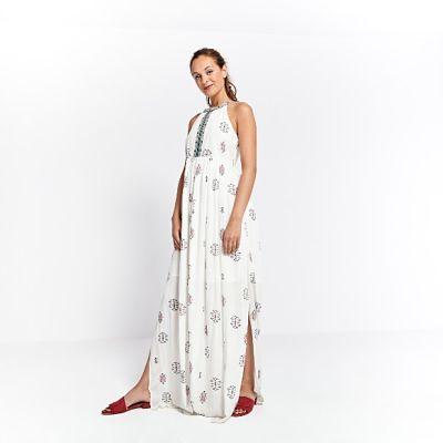 Vestido Surkana Costanza Largo Blanco