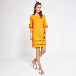 Vestido Surkana Adriana Naranja