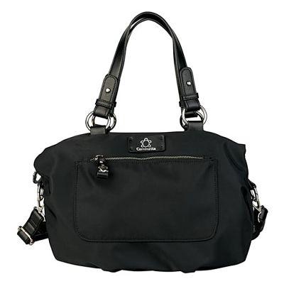 Bolso maletín nylon Caminatta w905 Savoia negro