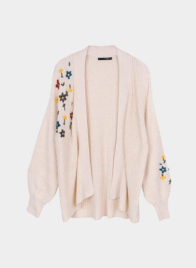 Chaqueta Gardenia beige Tiffosi