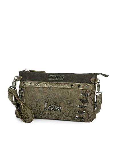 Bolso bagette LOIS 95189 marrón