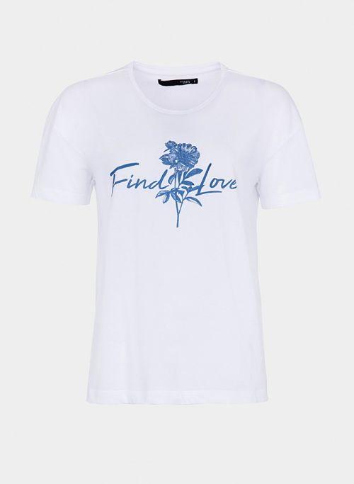 Camiseta blanca muejr Tiffosi Brandly