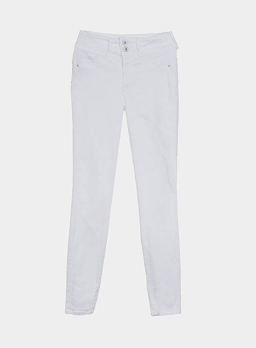 Pantalon vaquero One size Tiffosi blanco