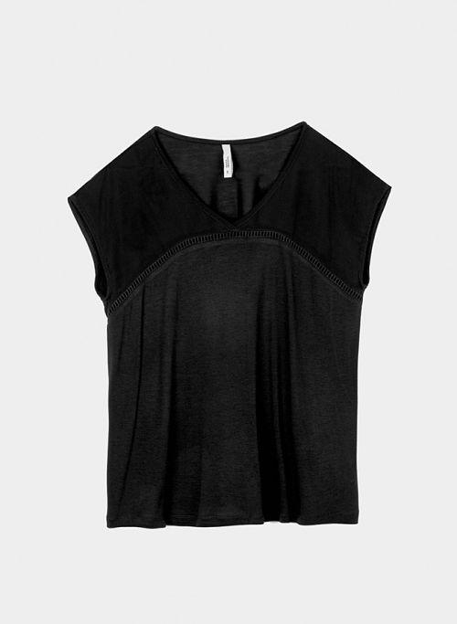 Camiseta Negra Tiffosi Eunice
