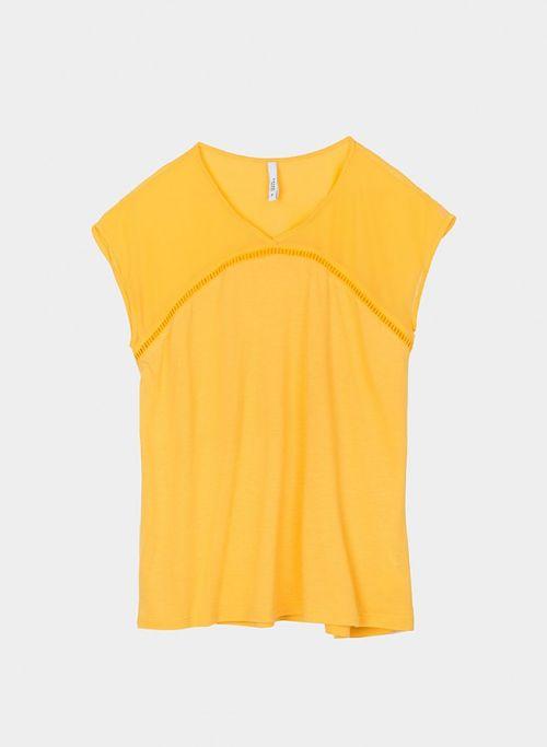 Camiseta amarilla Tiffosi Eunice