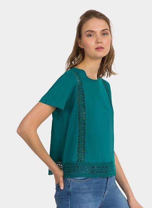 Camiseta mujer verde Tiffosi Jolie