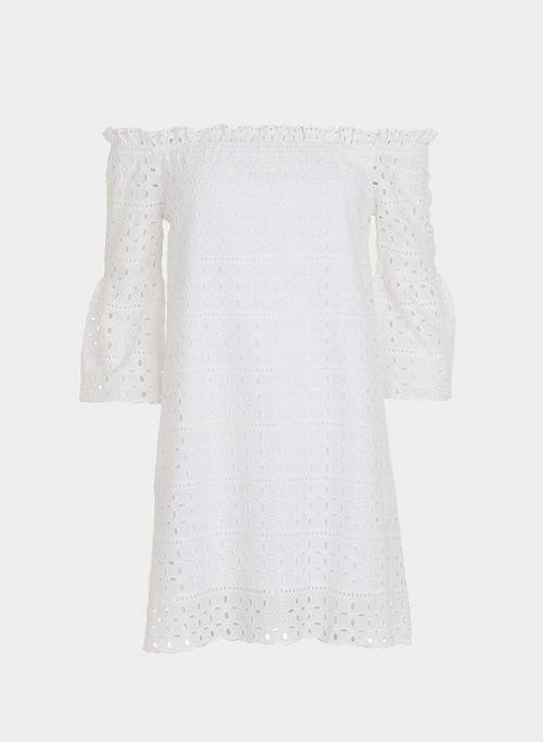 Vestido blanco Tiffosi Fiol