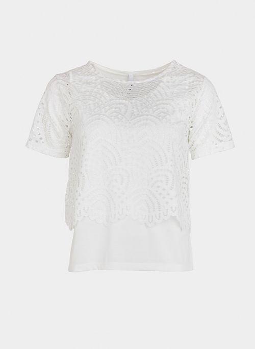 Camiseta mujer blanca Tiffosi Tagie