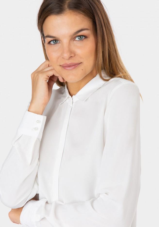 Camisa muejr blanca Tiffosi Varzea