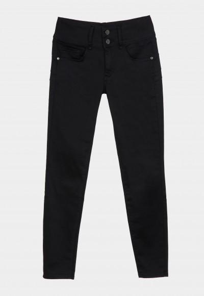 Pantalón mujer negro vaquero Tiffosi